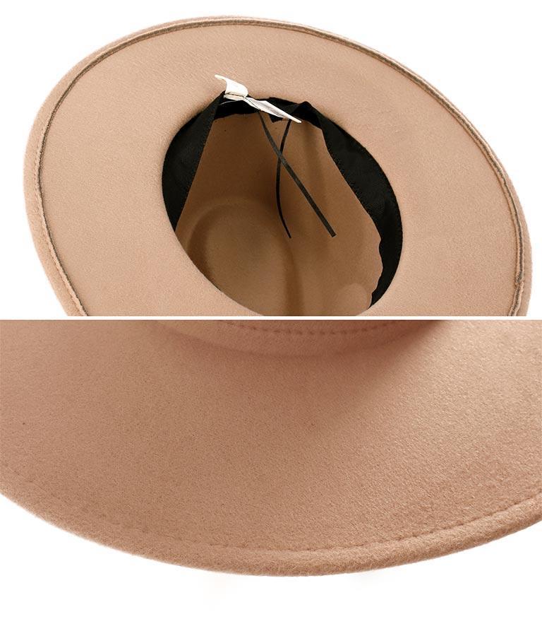 ツバ広中折ハット(ファッション雑貨/ハット・キャップ・ニット帽 ・キャスケット・ベレー帽)   anap mimpi