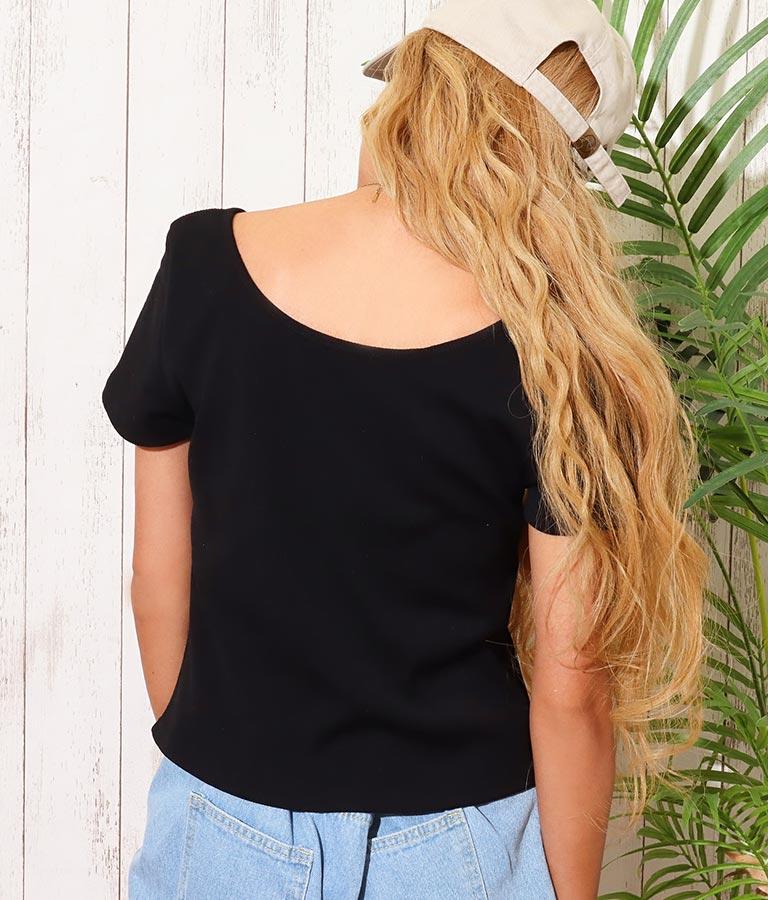リブ2WAYTシャツ(トップス/Tシャツ・カットソー ) | anap mimpi