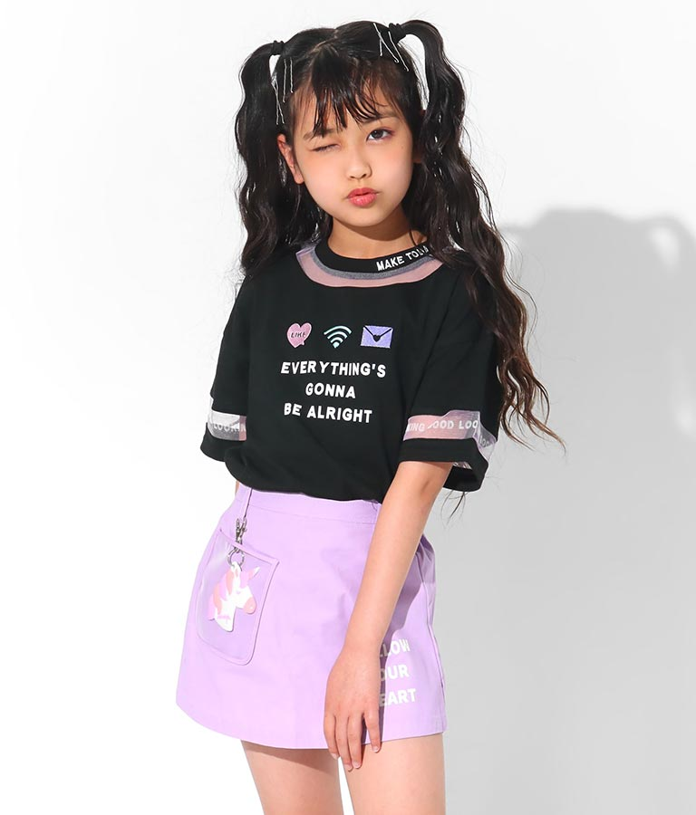 ユニコーンチャーム付スカパン(ボトムス・パンツ /ショートパンツ・スカート) | ANAP KIDS