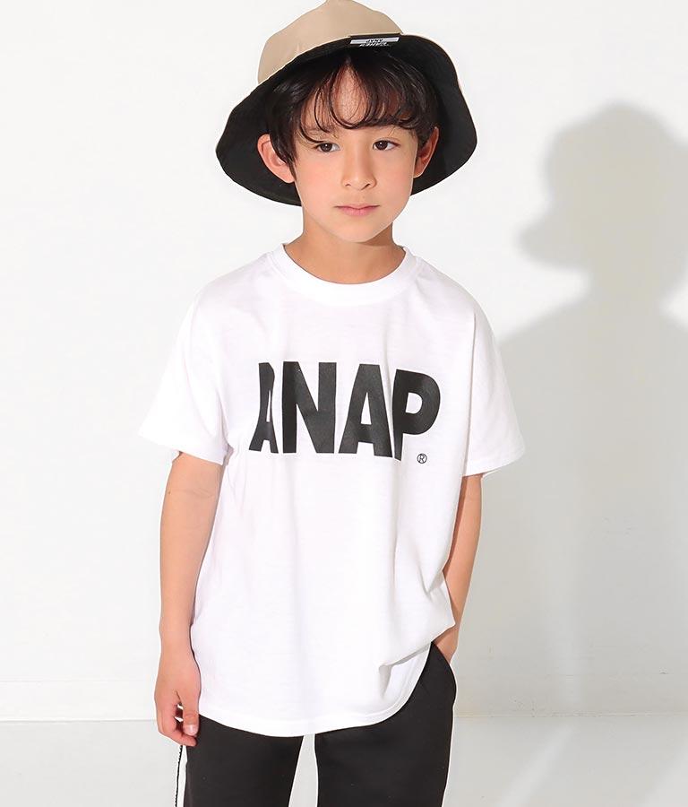 ドルマンスリーブ箔プリントトップス(トップス/Tシャツ) | ANAP KIDS