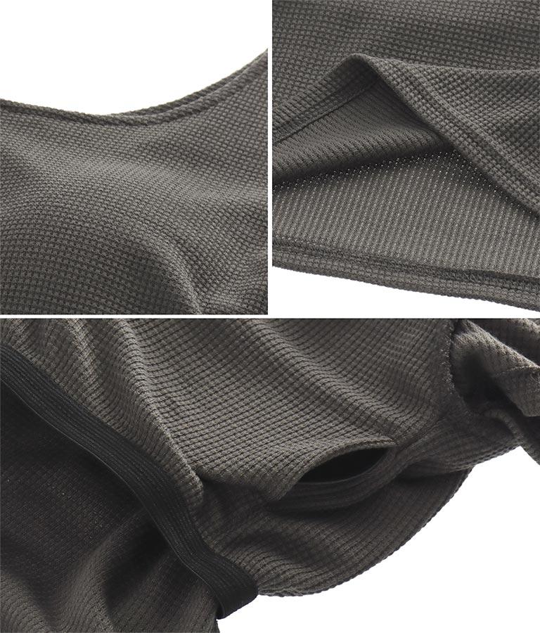 ワッフルパットインTシャツ(トップス/Tシャツ) | anap mimpi