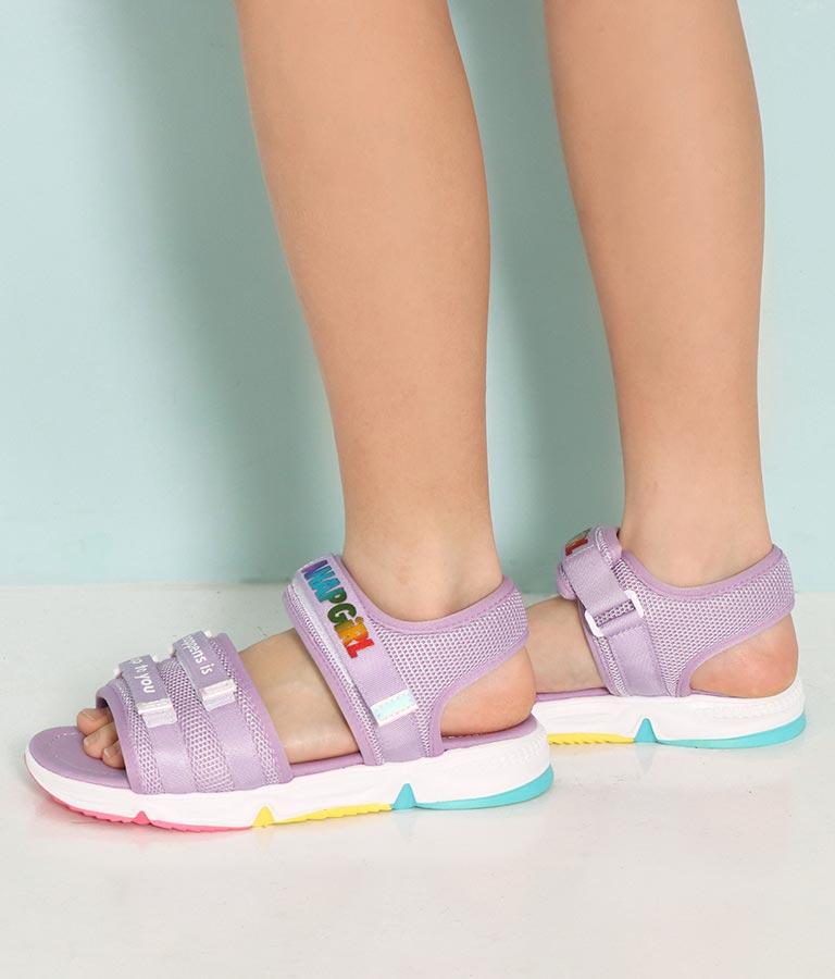 レインボーロゴベルトサンダル(シューズ・靴/サンダル) | ANAP GiRL