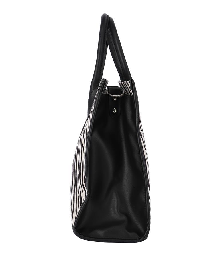 ゼブラスクエアビッグバッグ(バッグ・鞄・小物/ハンドバッグ・ショルダーバッグ) | ANAP