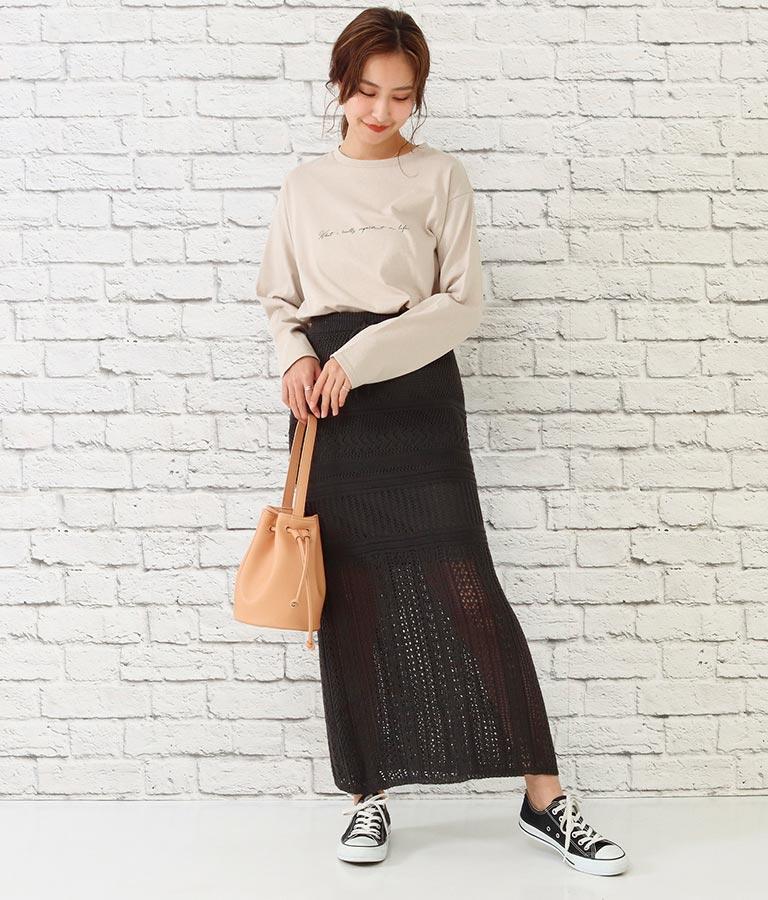 透かし編みスカート(ボトムス・パンツ /スカート) | CHILLE