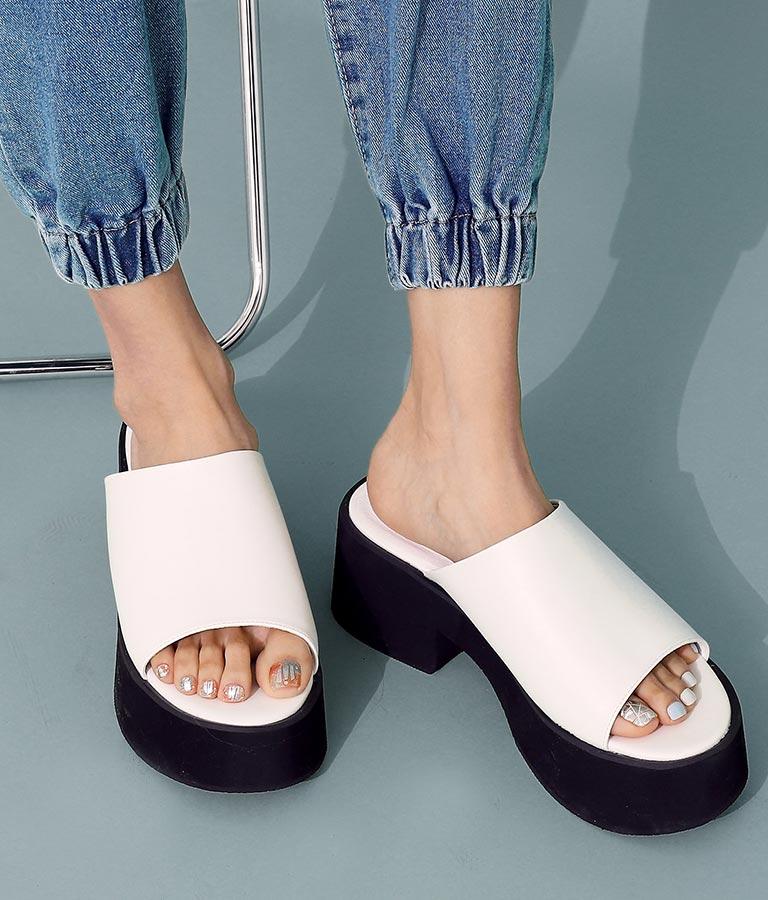 ワイドベルトサンダル(シューズ・靴/サンダル) | ANAP