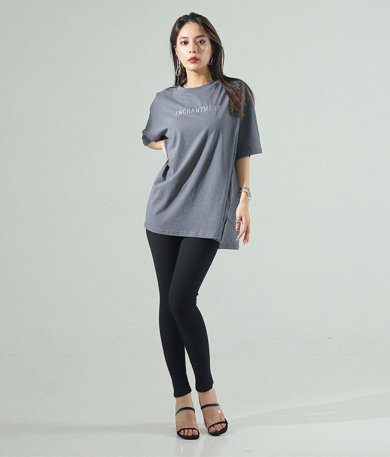 刺繍オーバーサイズTシャツ(トップス/Tシャツ)   ANAP