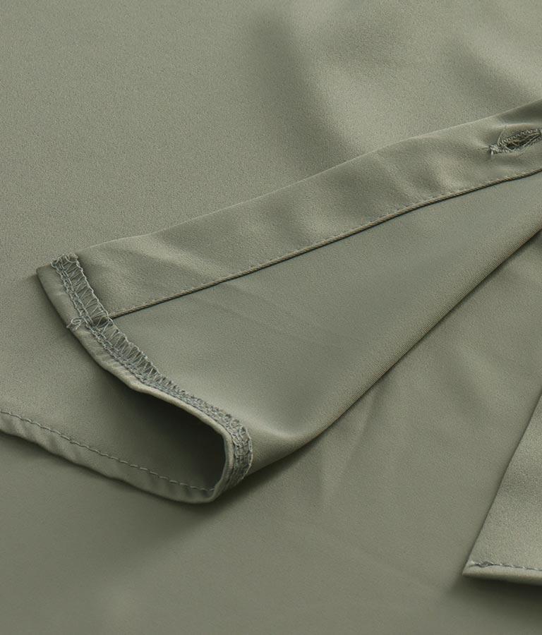 サテンオーバーサイズシャツ(トップス/シャツ・ブラウス)   ANAP