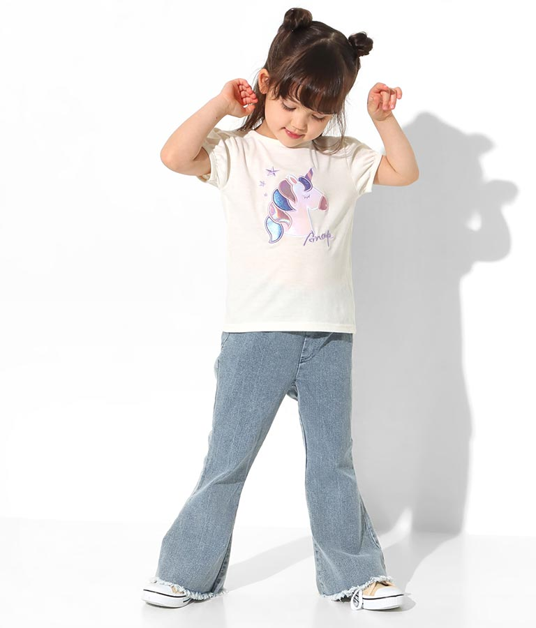 ユニコーンパフスリーブTシャツ(トップス/Tシャツ・パフスリーブトップス) | ANAP KIDS