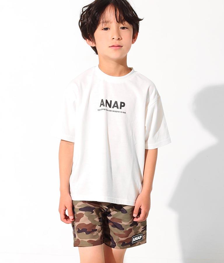 ダイナソーフォトビッグTシャツ(トップス/Tシャツ) | ANAP KIDS