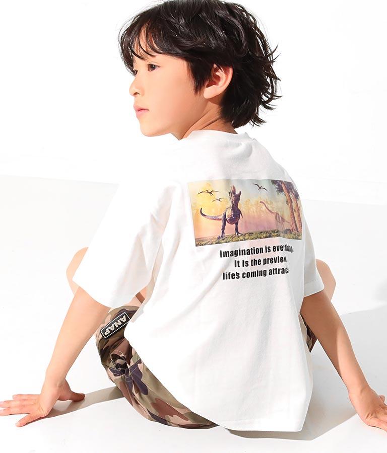 ダイナソーフォトビッグTシャツ