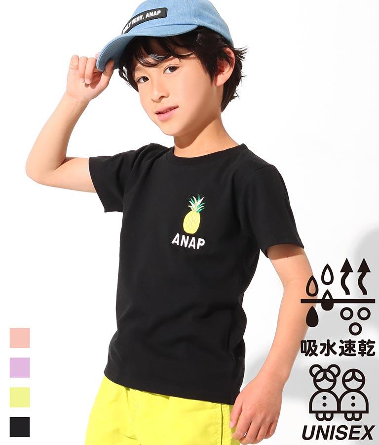 吸水速乾サマーワンポイントTシャツ