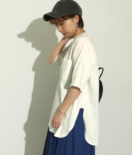 USAコットンTシャツ(トップス/Tシャツ) | Factor=