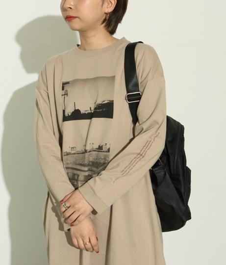 USAコットンTシャツワンピース(ワンピース・ドレス/ロングワンピ) | Factor=