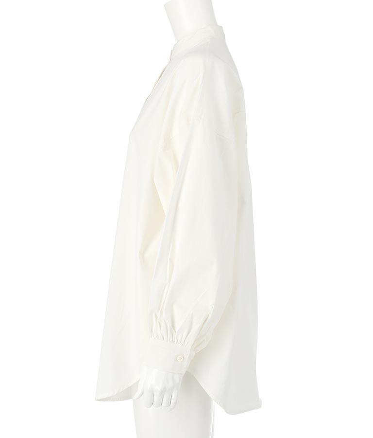 フェイクレザービスチェ×ブロードバンドカラーシャツセット(トップス/ビスチェ・シャツ・ブラウス) | Settimissimo