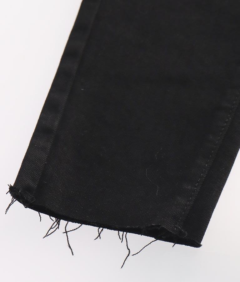 ブラックスキニーサロペット(ワンピース・ドレス/サロペット/オールインワン) | ANAP