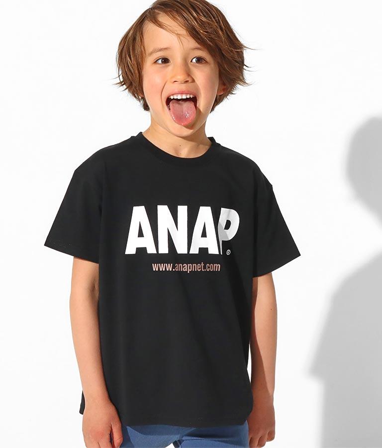 ANAPロゴプリントビッグTシャツ(トップス/Tシャツ)   ANAP KIDS
