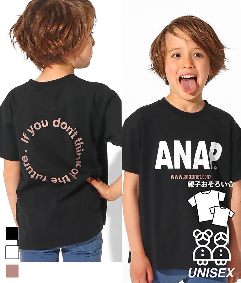 ANAPロゴプリントビッグTシャツ