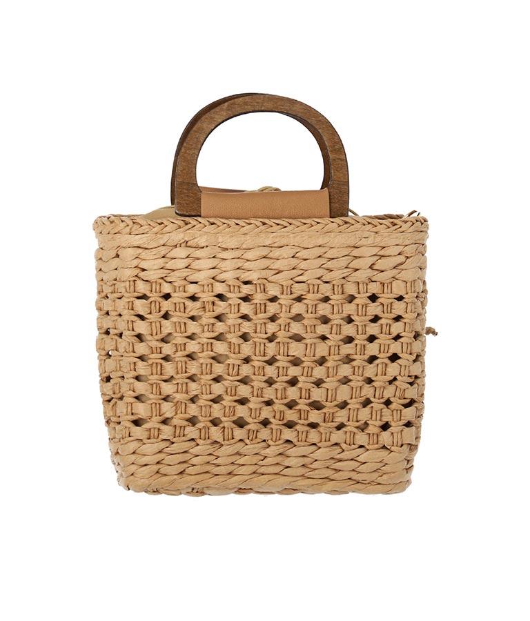 ペーパー編み2WAYバッグ(バッグ・鞄・小物/ハンドバッグ・ショルダーバッグ) | CHILLE