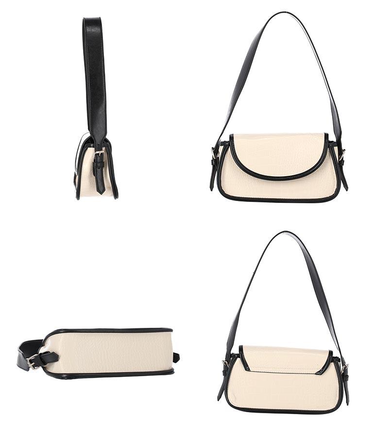 レザーパイピングバッグ(バッグ・鞄・小物/ショルダーバッグ) | CHILLE