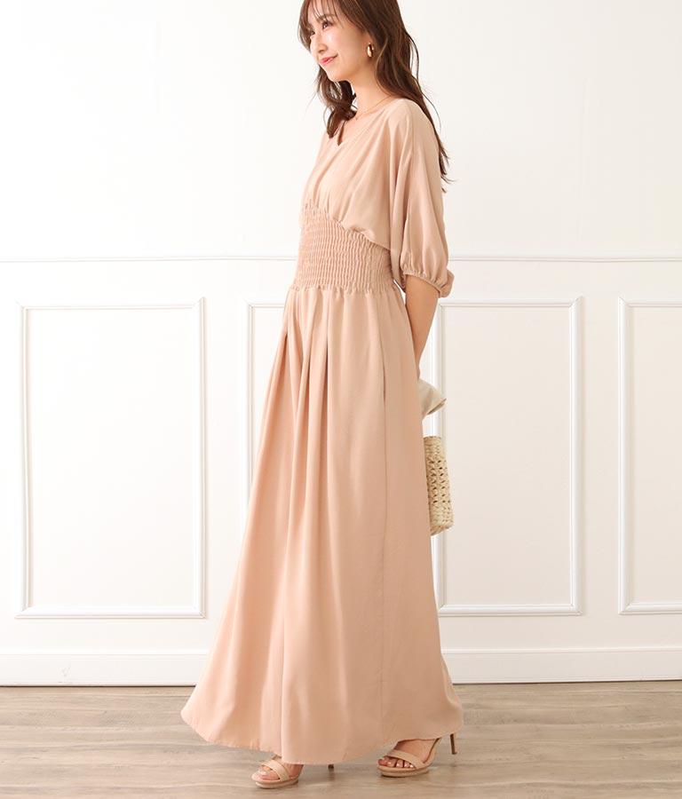 ウエストシャーリングオールインワン(ワンピース・ドレス/サロペット/オールインワン) | CHILLE