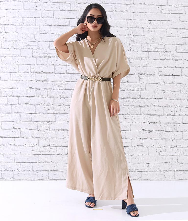 カシュクールオールインワン(ワンピース・ドレス/サロペット/オールインワン) | anap Latina