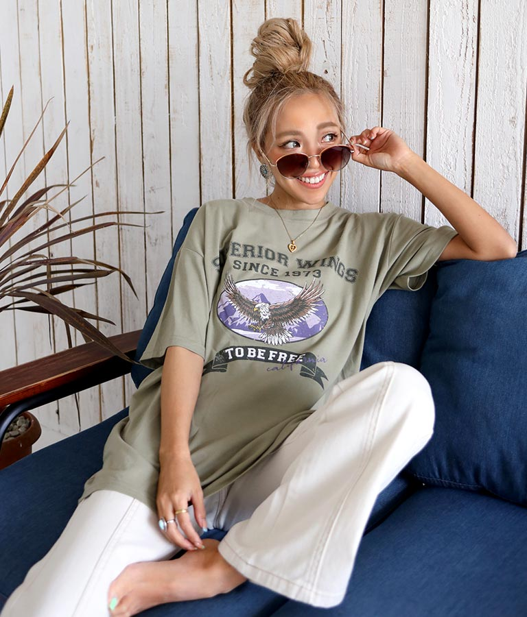 イーグルTシャツ(トップス/Tシャツ) | anap mimpi