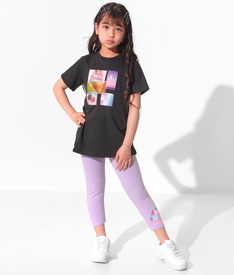 ユニコーン刺繍7分丈レギンス(ボトムス・パンツ /レギンス) | ANAP KIDS