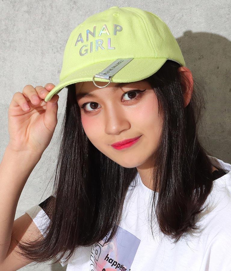 エンボスロゴリングキャップ(ファッション雑貨/ハット・キャップ・ニット帽 ・キャスケット・ベレー帽) | ANAP GiRL