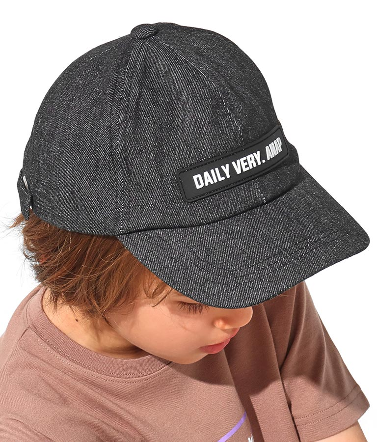 デニムラバーワッペンキャップ(ファッション雑貨/ハット・キャップ・ニット帽 ・キャスケット・ベレー帽)   ANAP KIDS