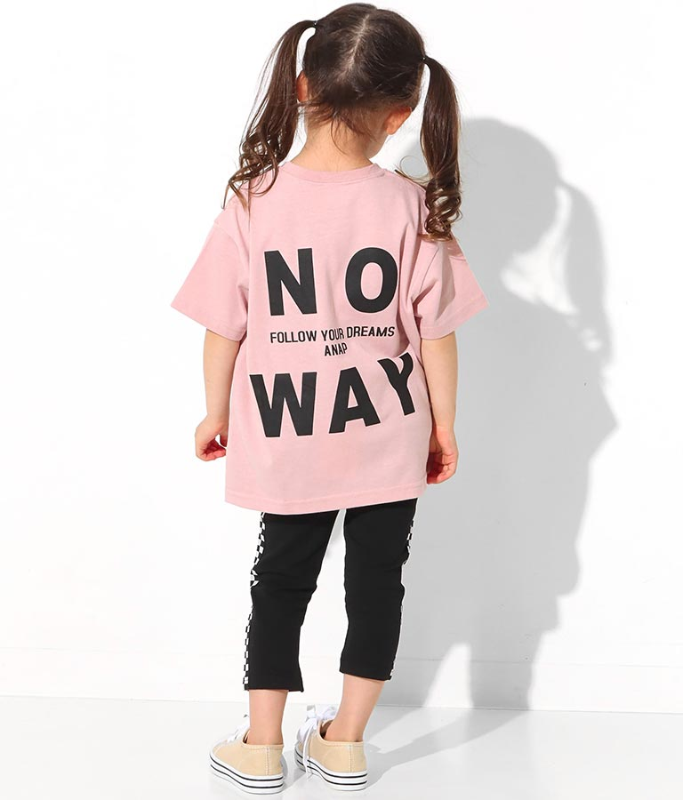 サイドジップ付ビッグTシャツ(トップス/Tシャツ) | ANAP KIDS