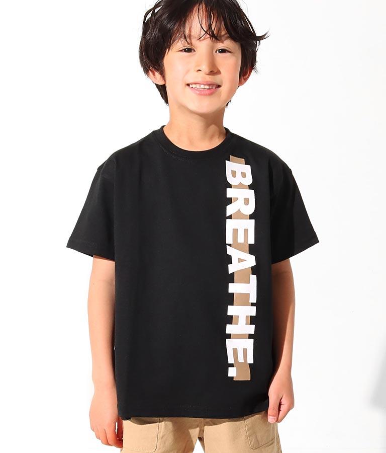 制菌ラインロゴビッグTシャツ(トップス/Tシャツ) | ANAP KIDS