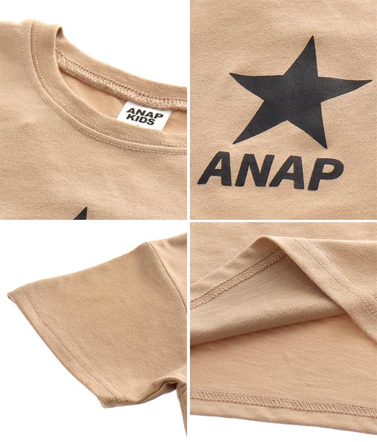 制菌スタープリントTシャツ(トップス/Tシャツ) | ANAP KIDS