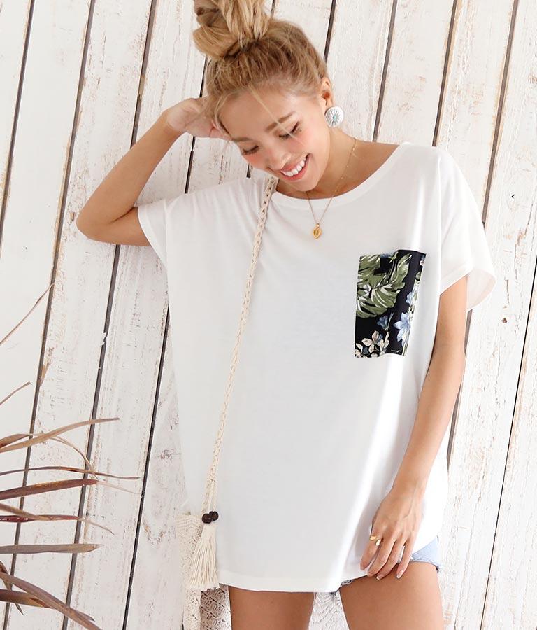 アロハポケットTシャツ