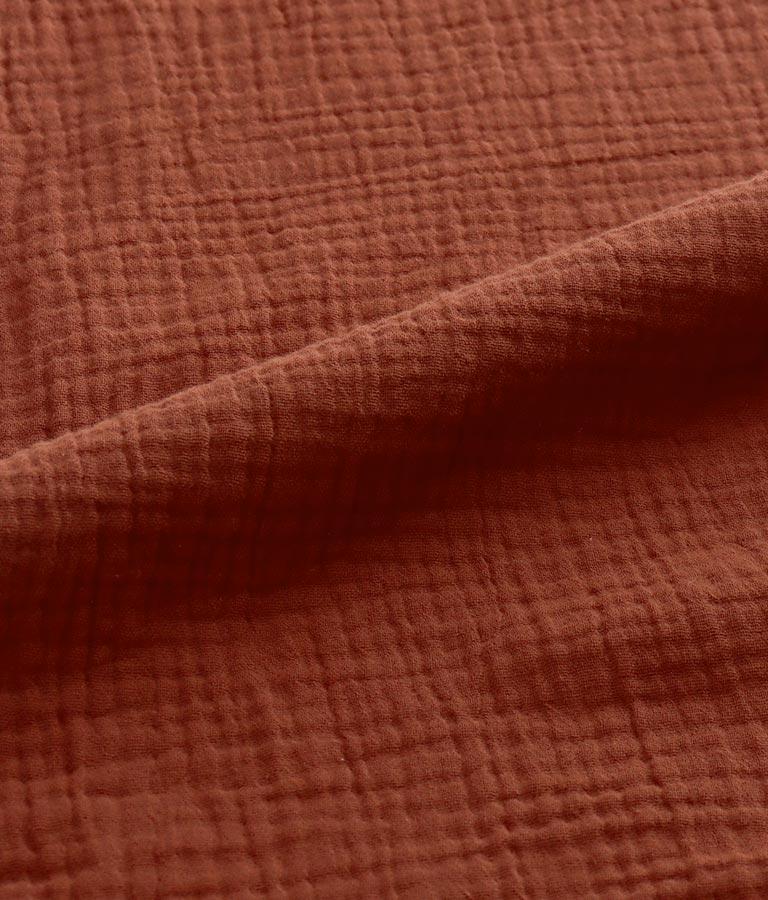 ショルダーリボンダブルガーゼオールインワン(ワンピース・ドレス/サロペット/オールインワン) | anap mimpi