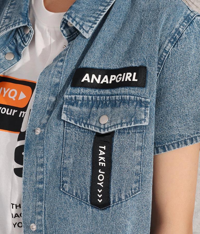 ケミカル半袖シャツ(トップス/シャツ・ブラウス) | ANAP GiRL