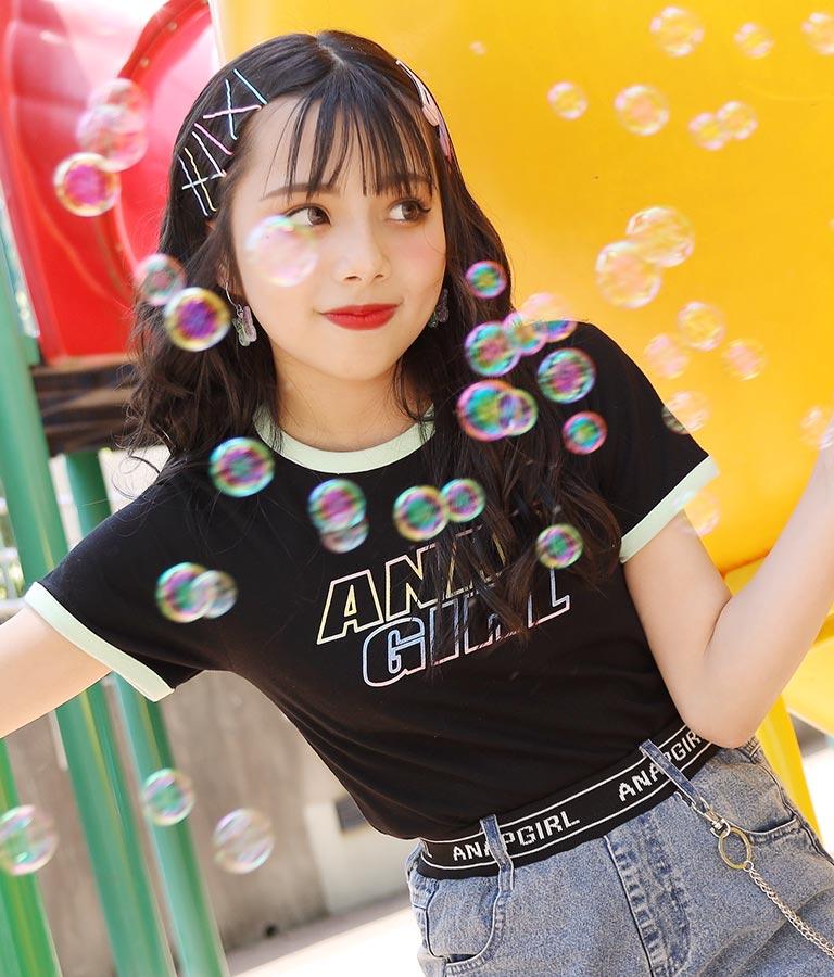リンガートップス(トップス/Tシャツ) | ANAP GiRL