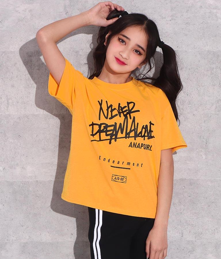 ストリートメッセージTシャツ(トップス/Tシャツ) | ANAP GiRL