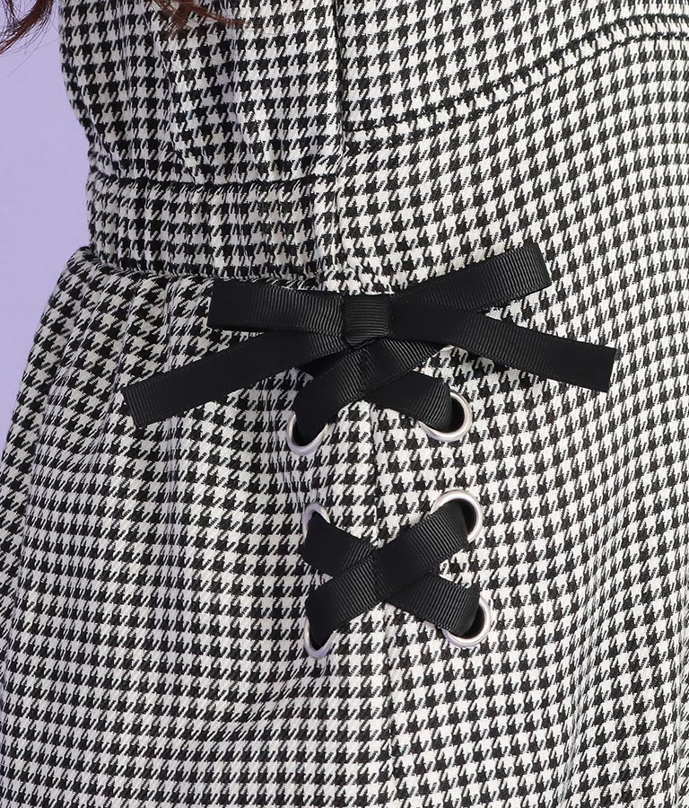 サイドレースアップジャンパースカート(ワンピース・ドレス/ミディアムワンピ) | ANAP GiRL