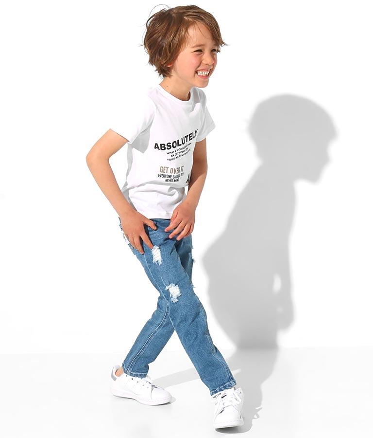 制菌ロゴプリントTシャツ(トップス/Tシャツ) | ANAP KIDS