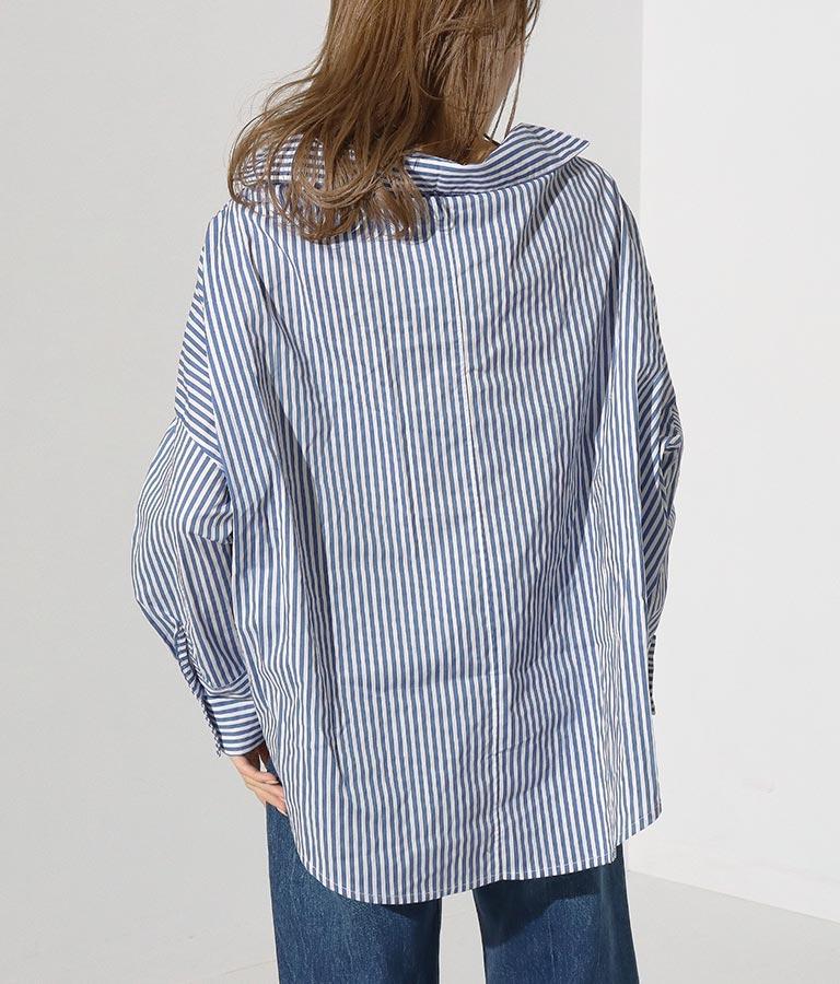 フロントカシュクール&ノットデザインシャツ   Settimissimo