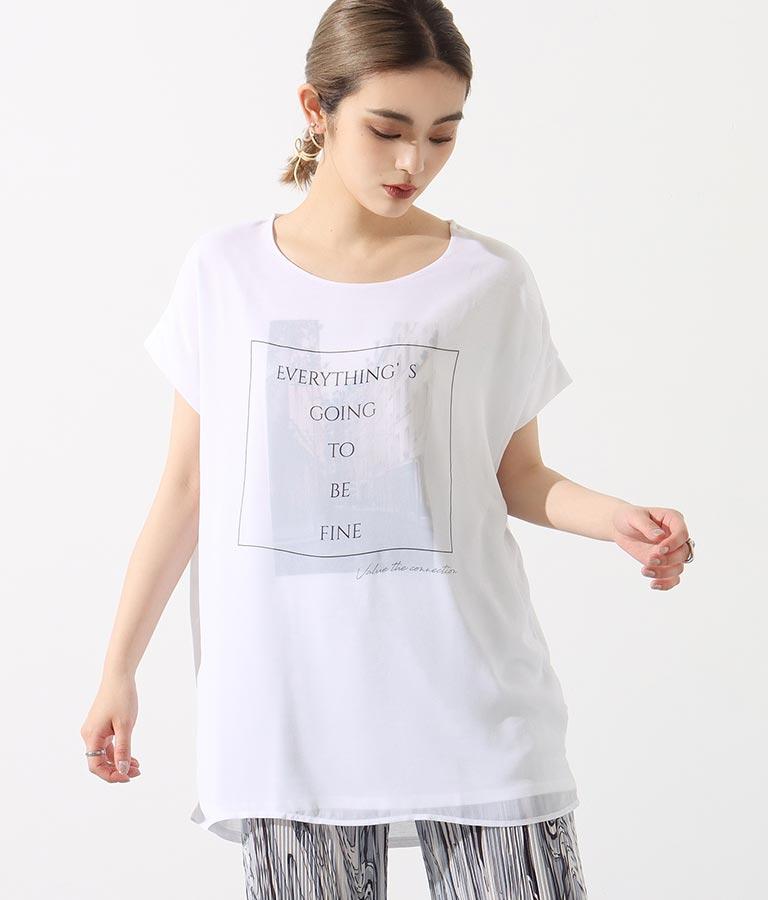 3DシティプリントTシャツ(トップス/Tシャツ) | Settimissimo