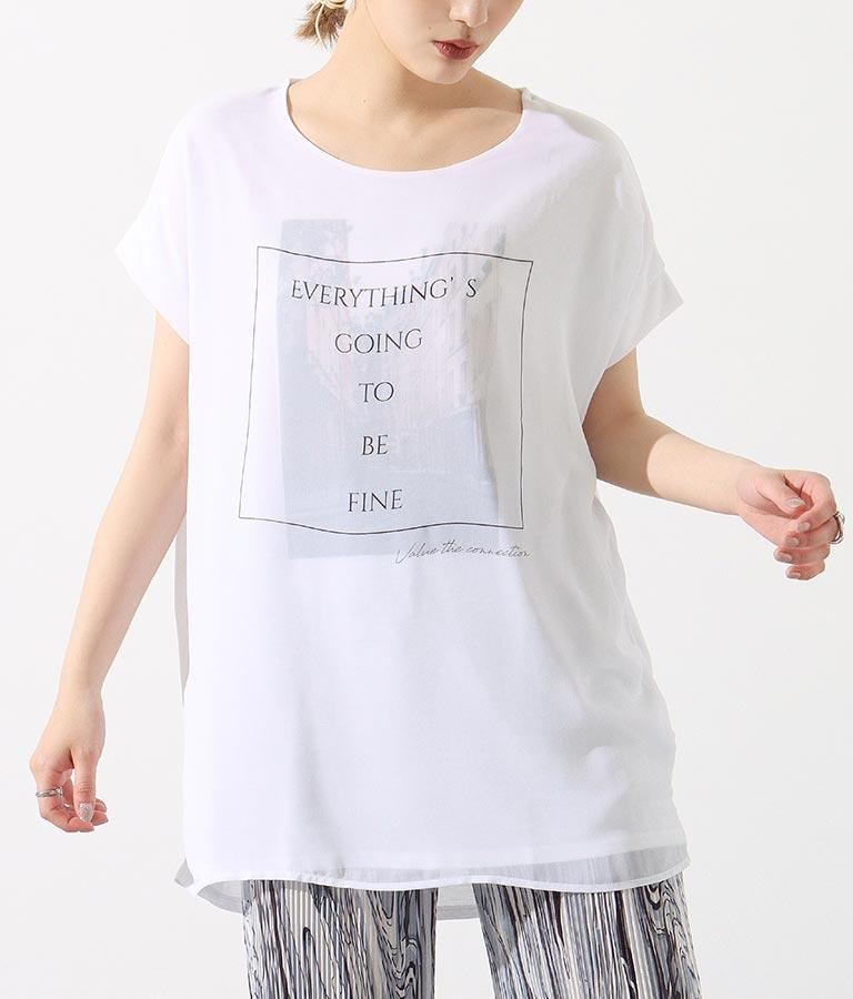 3DシティプリントTシャツ