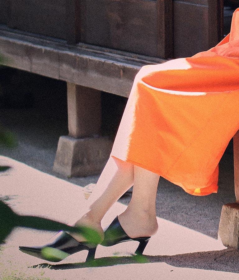 ソフトスクエアトゥサボサンダル(シューズ・靴/サンダル) | Settimissimo
