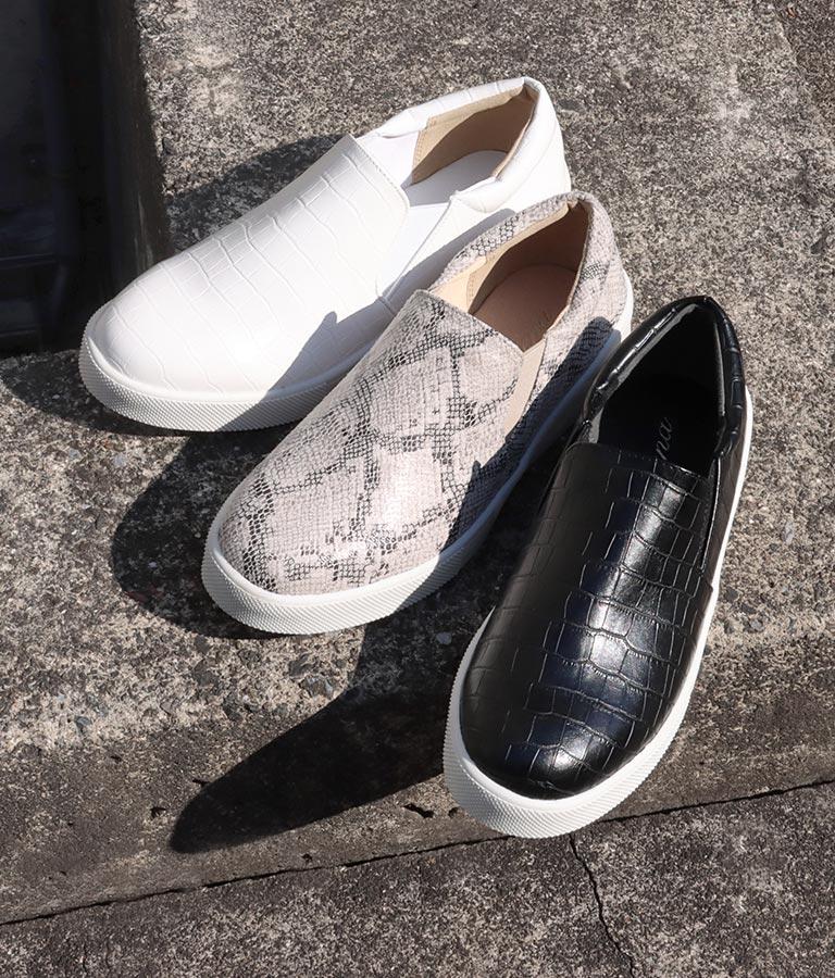 柄型押しスリッポン(シューズ・靴/スニーカー) | Settimissimo