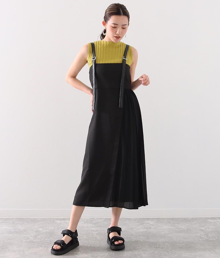 サイドプリーツジャンパースカート
