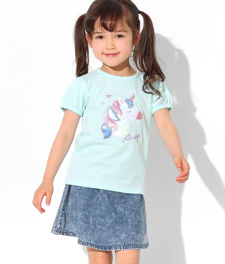 移動ポケット付フレアミニスカート(ボトムス・パンツ /スカート) | ANAP KIDS