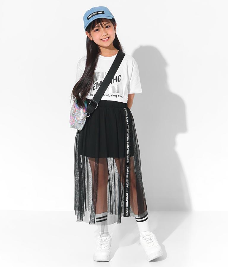 箔トライアングルプリントTシャツ(トップス/Tシャツ)   ANAP KIDS