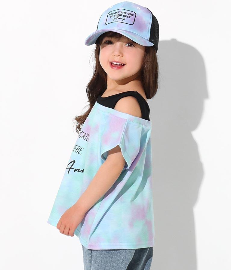 タイダイレイヤード風トップス(トップス/Tシャツ) | ANAP KIDS