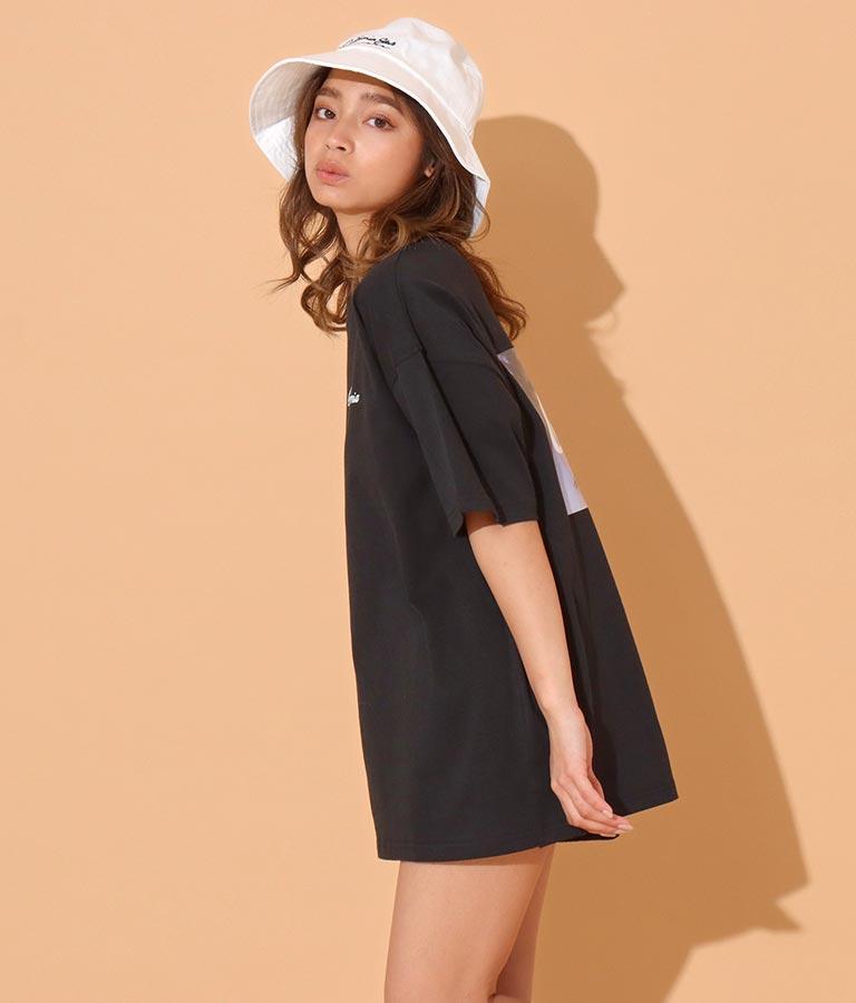 バックフォトプリントTシャツ(トップス/Tシャツ) | anap mimpi