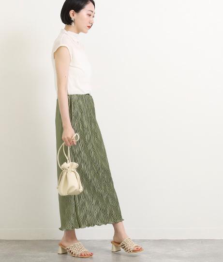 【低身長向けサイズ】ギラギラプリーツスカート(ボトムス・パンツ /スカート) | AULI